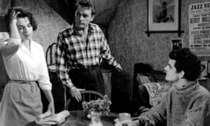 Bloom, Richard Burton and Gary Raymond in Look Back in Anger (1958).