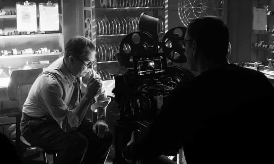 Getting his due … Gary Oldman as Herman Mankiewicz.