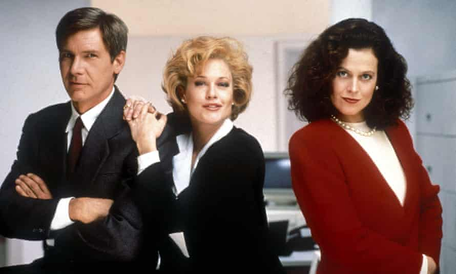 Power dressing, and then some ... Working Girl from 1988.