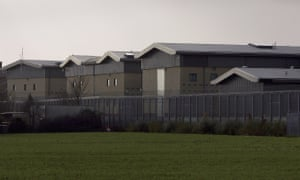 Harmondsworth immigration detention centre near Heathrow
