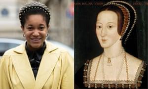 Tamu McPherson and Anne Boleyn