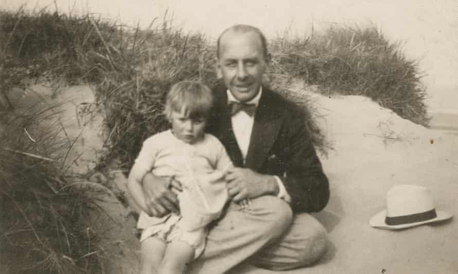 'Cumming arrives by stages at the truth of Betty's parentage and the tangles of her first three years' …  George and Grace on the beach.