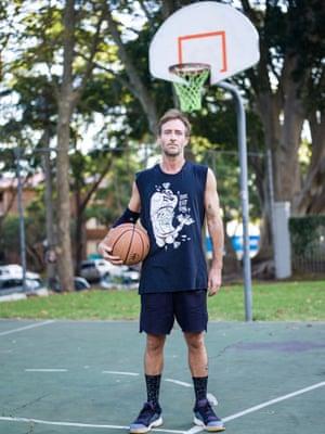 Nick Jackson shot at Redfern public basketball courts.