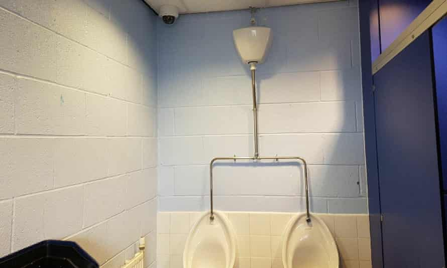 One of the CCTV cameras is in the corner of the boys toilets at Summerhill school, Kingswinford