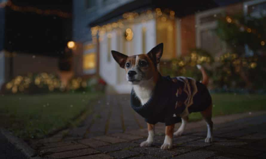 Still from M&S's new Christmas ad