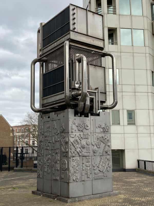 Tall order … Eduardo Paolozzi's Pimlico ventilation shaft.