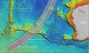 The expanded search area agreed in April by Australia, Malaysia and China now covers 120,000sq km of the Indian ocean.