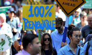 A march to tackle climate change