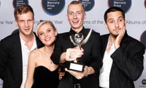 Wolf Alice, Mercury 2018 winners.