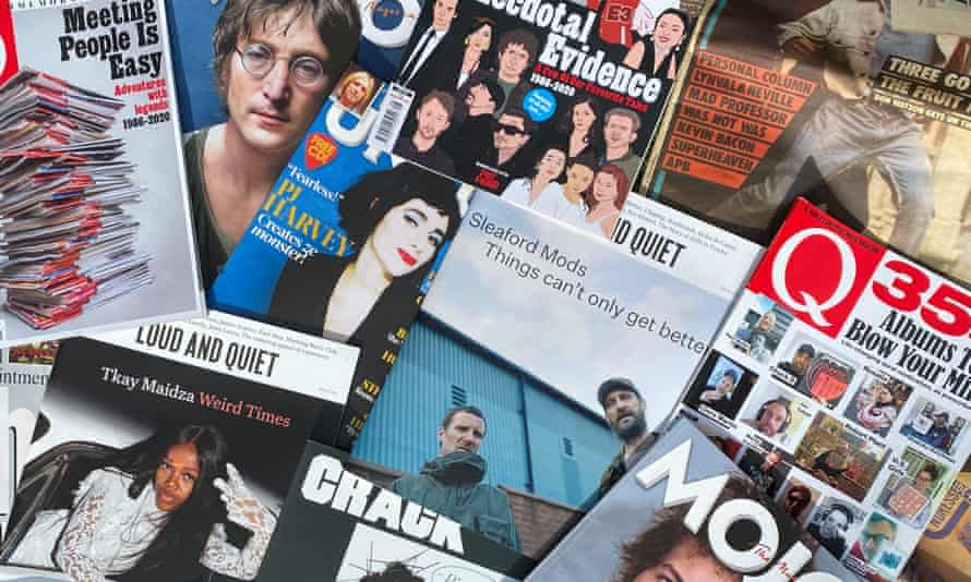 'What's exciting to me is being able to deliver a music publication directly to the reader' ... UK music magazines.