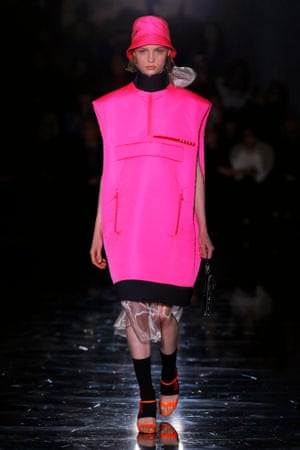 f54fe33c8a61 Prada's Milan show captures the dazzling and the intricate | Fashion ...