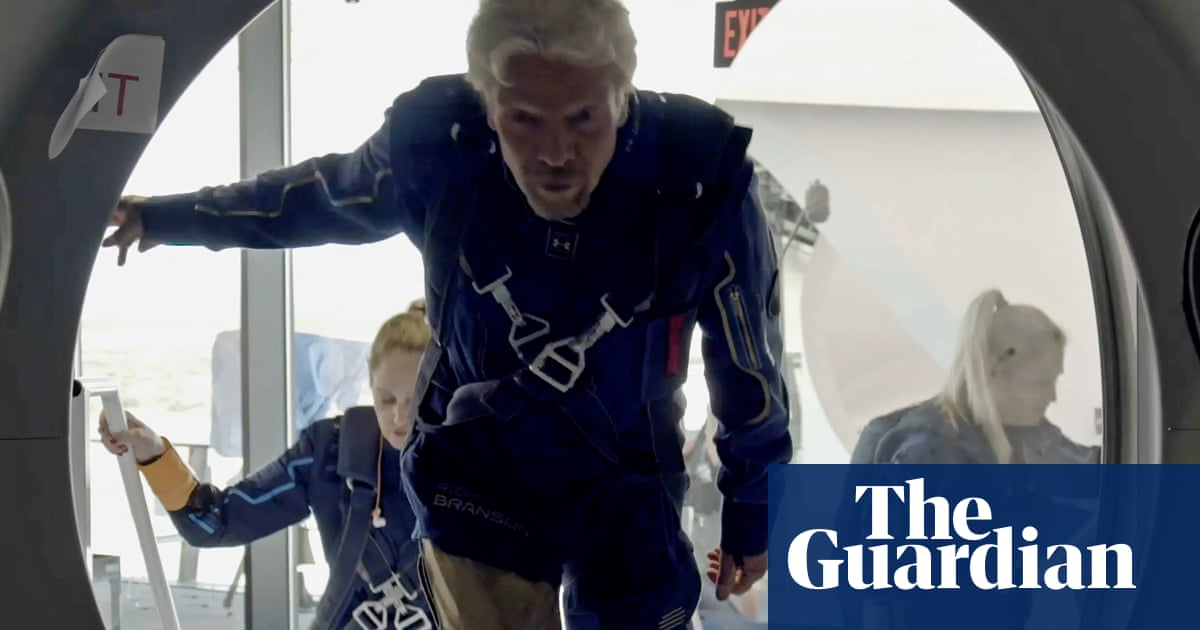 Virgin Galactic to launch space plane with Richard Branson on board