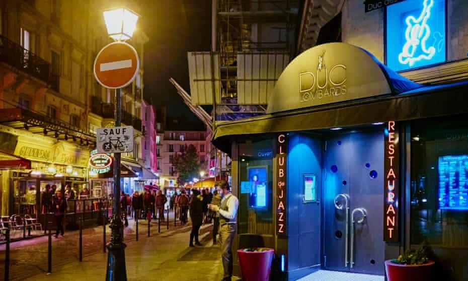 Le Duc des Lombards Paris jazz club
