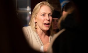 Senator Kirsten Gillibrand was asked by a reporter if she was perhaps too 'nice' to take on Donald Trump after making her own 2020 announcement.