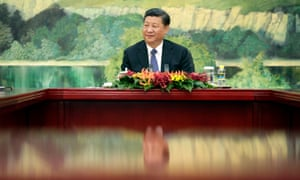 China's President Xi Jinping may see advantages to be had with America's withdrawal from climate change agreements.