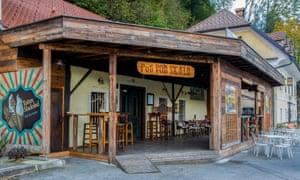 Pod Skalo pub, Kamnik, Slovenia