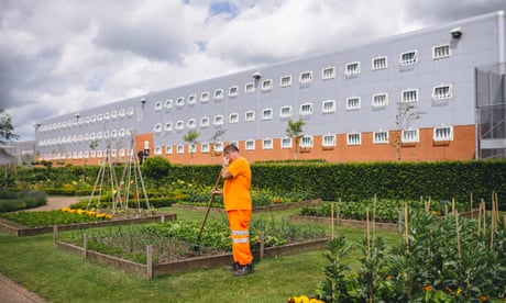 How a gardening scheme is reaping rewards for prisoners' mental health