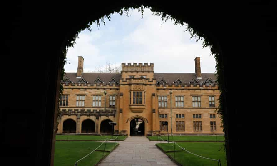 The University of Sydney. The federal government has revised its previous ruling that international students not be allowed into states with internal border closures.