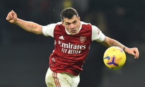 Granit Xhaka's recent form has been impressive. 'Physically and mentally, I am in a very good place,' he says.