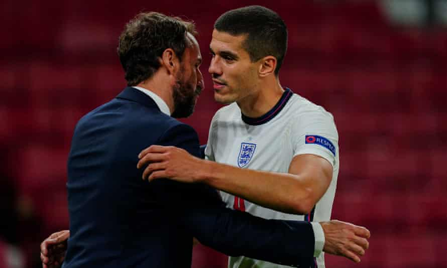 Wolves' Conor Coady was one of four players who made their England debuts in Copenhagen.