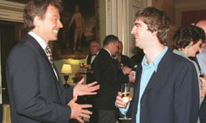 Gallagher meets Blair at Downing Street.