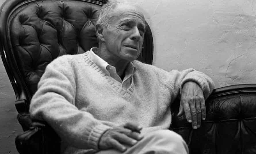 Claude Simon in his home in Salses, southern France.