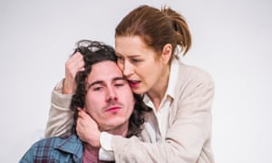 Woman on the verge of a nervous breakdown … Gina McKee as Anne with William Postlethwaite as Nicholas in The Mother.