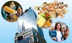 Sausage Roll; Jewellery; Kendall Jenner; Fyre Festival; Walkie Talkie Building