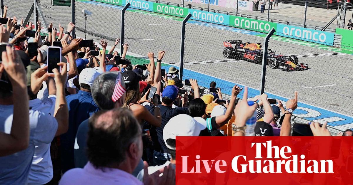 US Grand Prix: Verstappen pips Hamilton in thrilling finish – as it happened