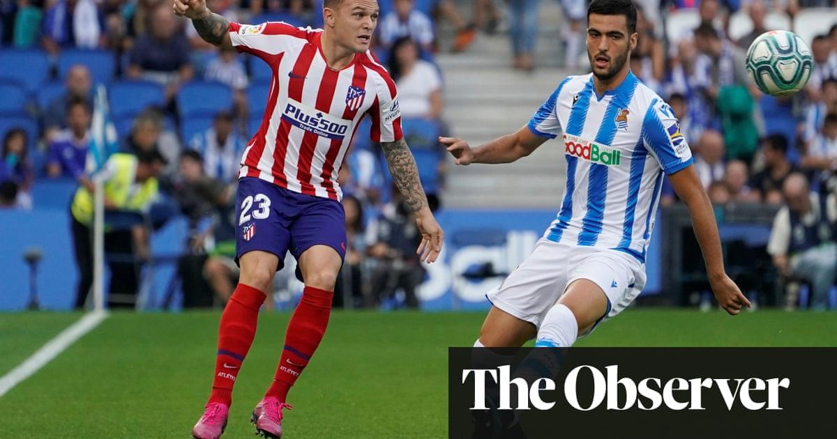 Rejuvenated Kieran Trippier making a quick impression at Atlético Madrid