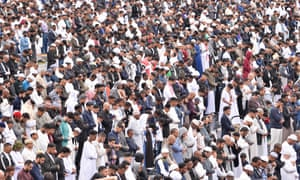 Mass prayer on Sunday at Celebrate Eid, Birmingham