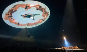 Kanye West's Yeezus tour: a rare moment of live hip-hop pushing the boat out.