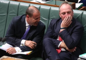 The deputy prime minister, Barnaby Joyce, and the minister for energy, Josh Frydenberg