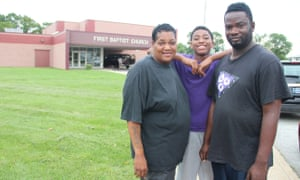 West Calumet residents in East Chicago, Indiana.