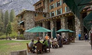 The Ahwahnee hotel in Yosemite.