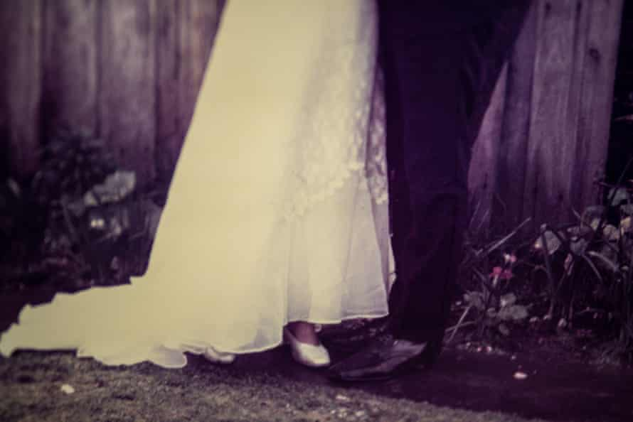 The feet of my parents on their wedding day. This is one of only two images I have ever seen of that day