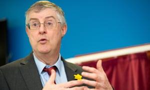 Welsh health minister Mark Drakeford