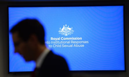 File photo of a Royal Commission into Institutional Responses to Child Sexual Abuse public hearing
