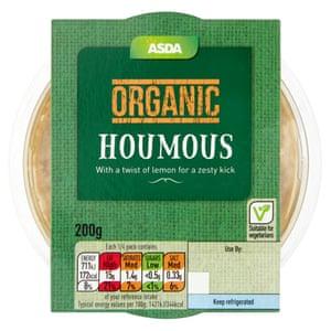 Asda Organic Houmous