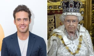 Spencer Matthews and Queen Elizabeth