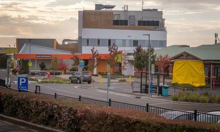 North West Regional Hospital in Burnie, Tasmania