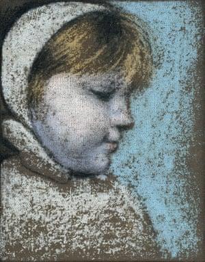 The First Snow, um retrato de Maya por seu pai em 1938.