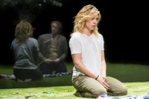 Billie Piper in Yerma at the Young Vic.