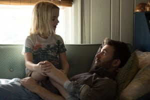 McKenna Grace and Chris Evans in Gifted.