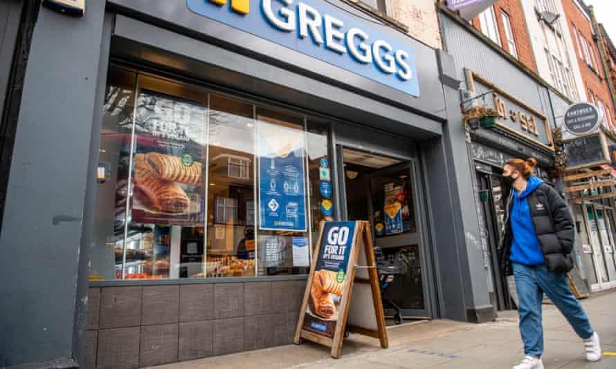 Greggs Tower Bridge Road branch.