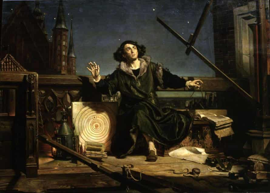 Astronomer Copernicus, or Conversations with God by Jan Matejko