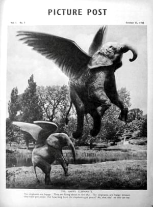 John Heartfield's Picture Post cover (October 1938).