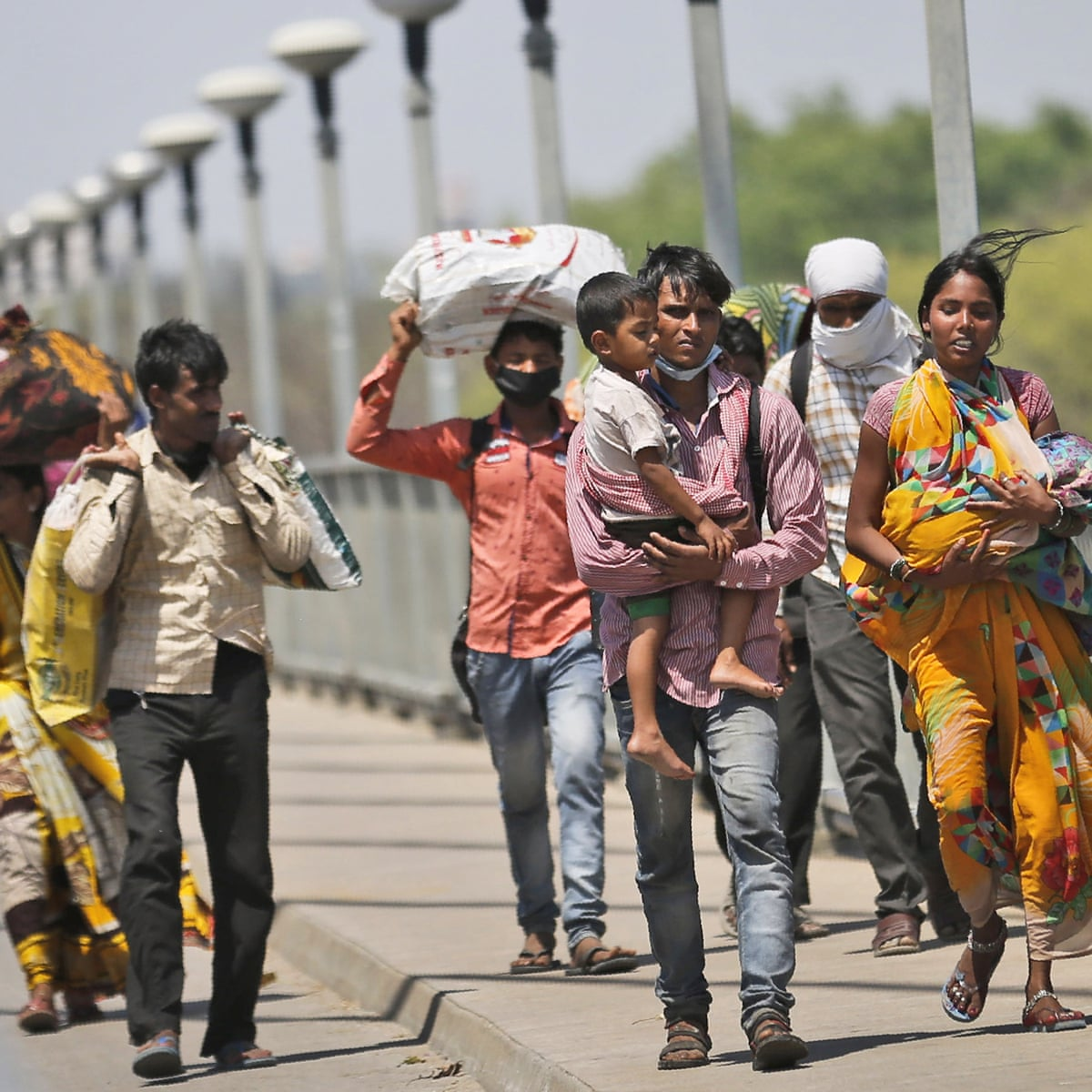 India racked by greatest exodus since partition due to coronavirus ...
