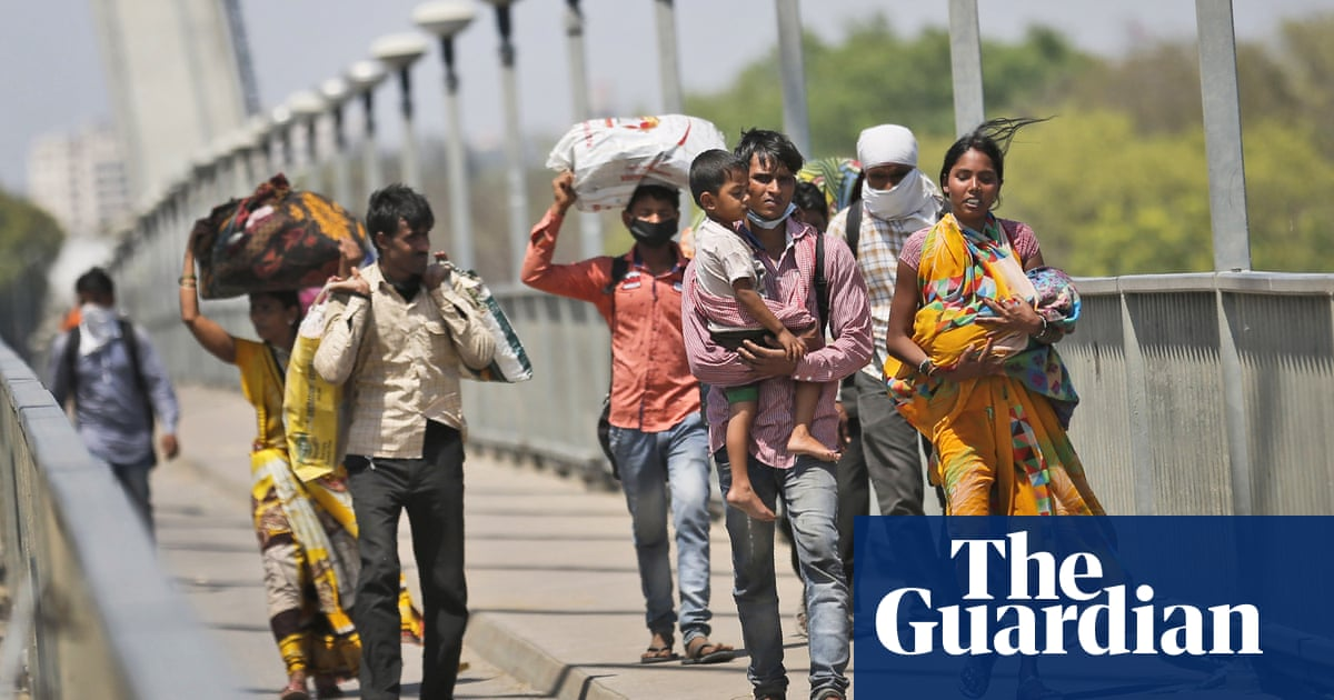 India racked by greatest exodus since partition due to coronavirus