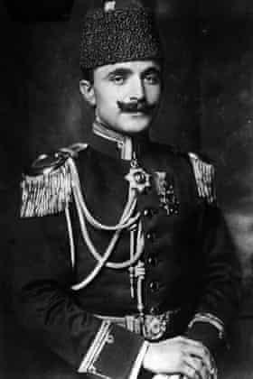 Enver Pasha, circa 1914.